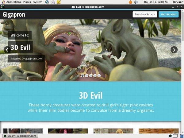 3D Evil Payment