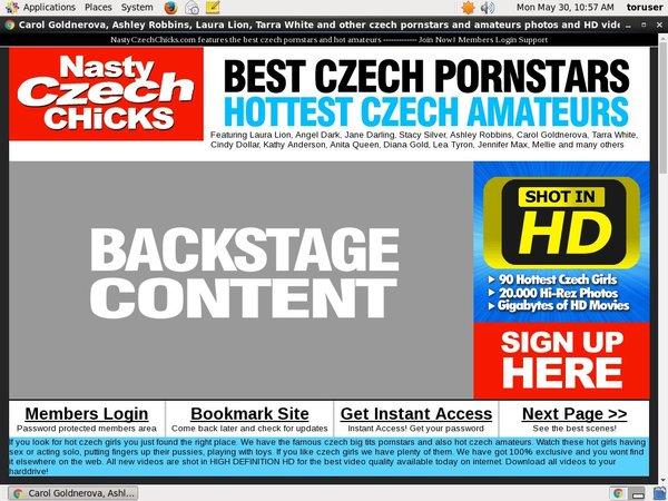 Nastyczechchicks.com Valid Password