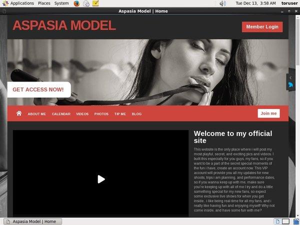 aspasia models