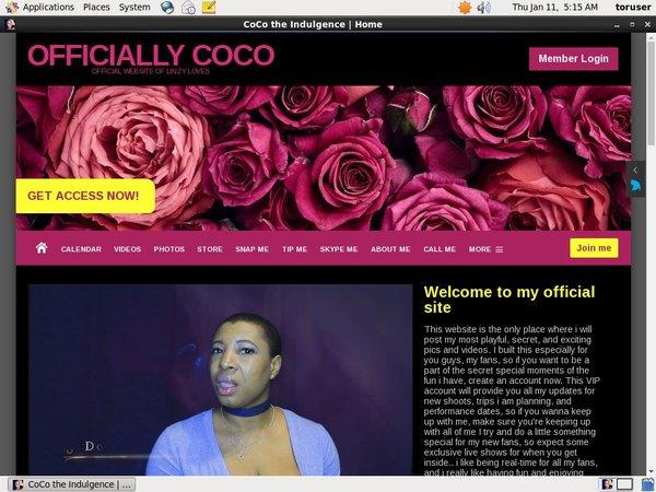 Free Premium CoCo The Indulgence
