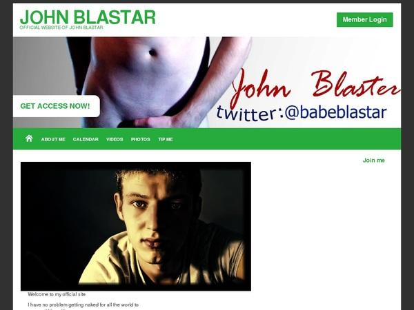 John Blastar With Australian Dollars