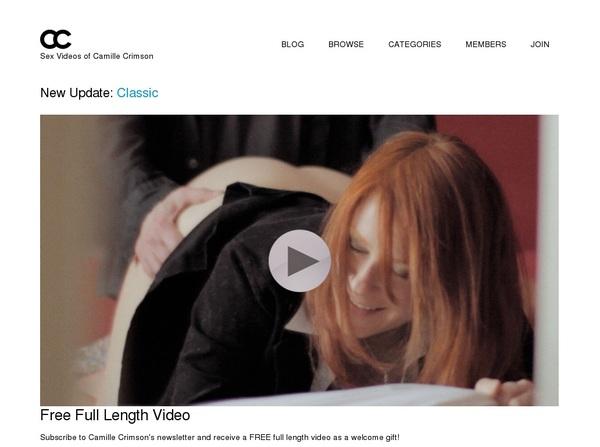 Camillecrimson.com With Zombaio