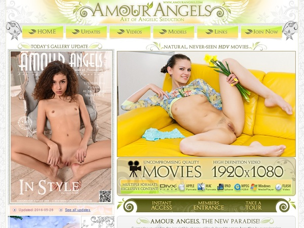 How To Get Into Amour Angels Free