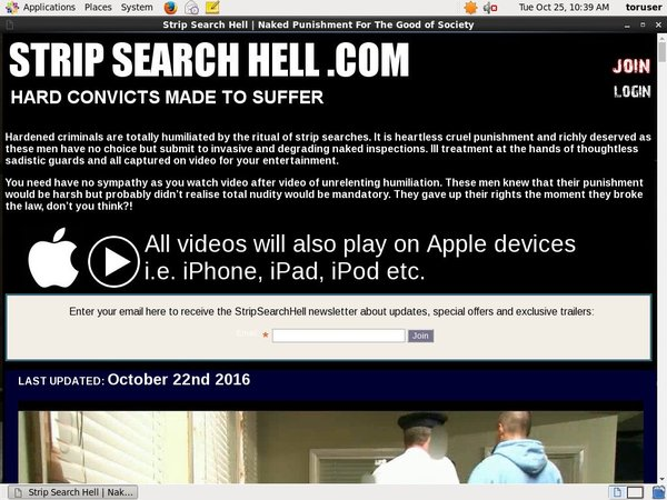 Strip Search Hell Promo Deal