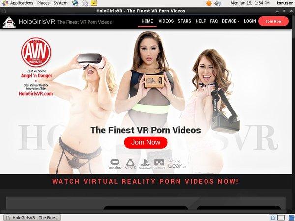 Holo Girls VR Free Passwords