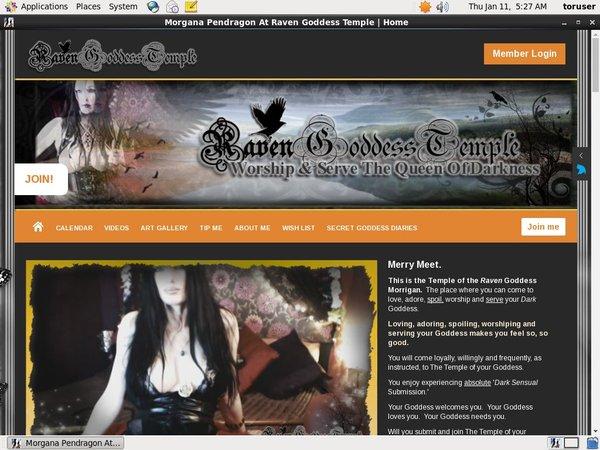 MorganaPendragonAtRavenGoddessTemple Promotion